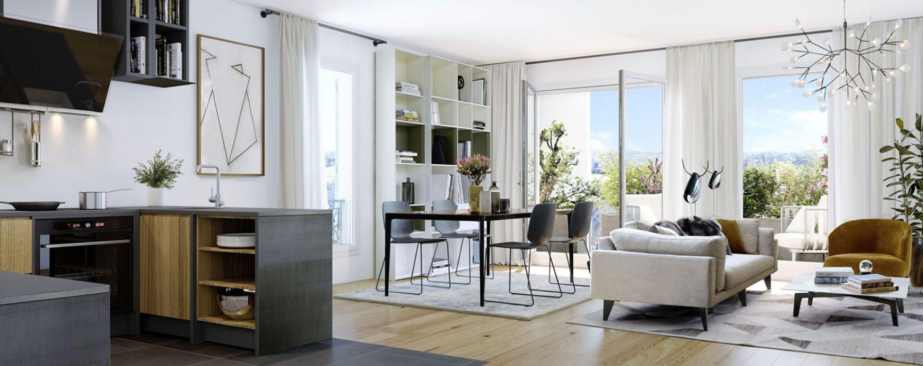 Ballainvilliers : programme immobilier neuve « Programme immobilier n°218630 » en Loi Pinel (5)