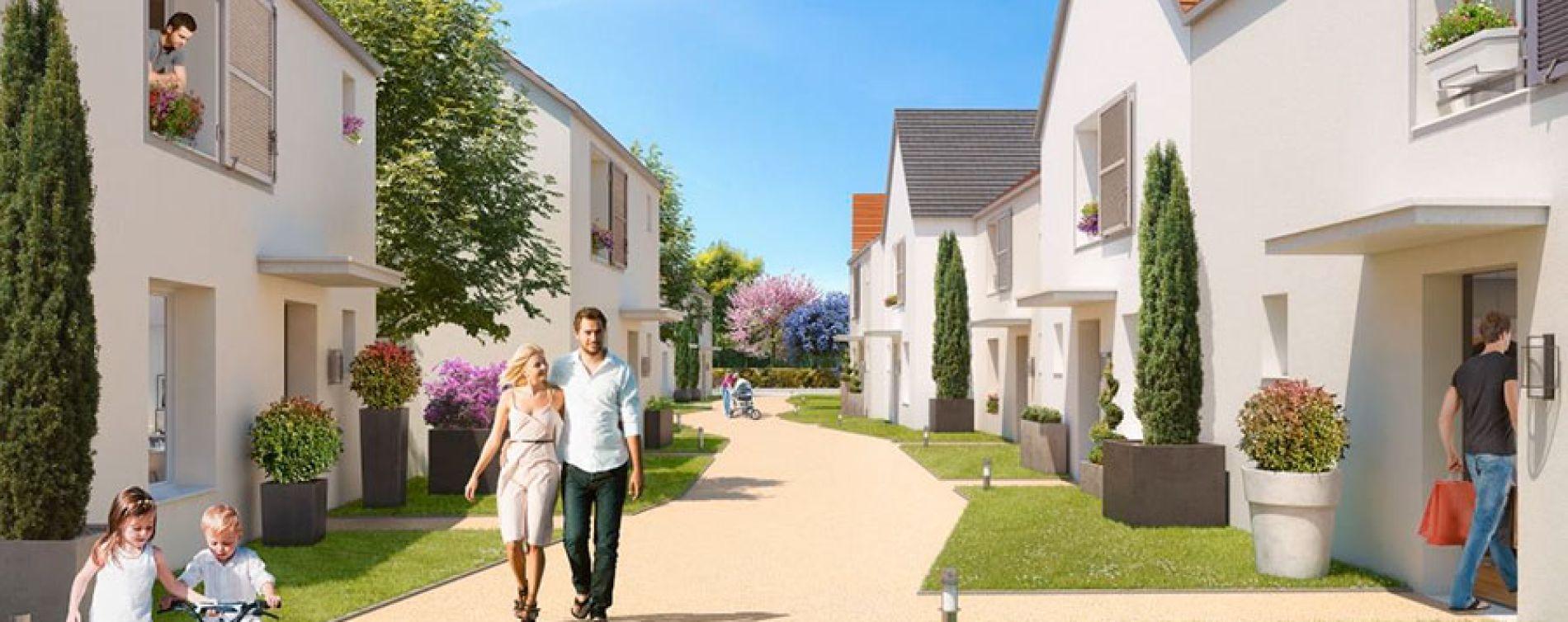 Ballainvilliers : programme immobilier neuve « Naturellement Ballain » en Loi Pinel