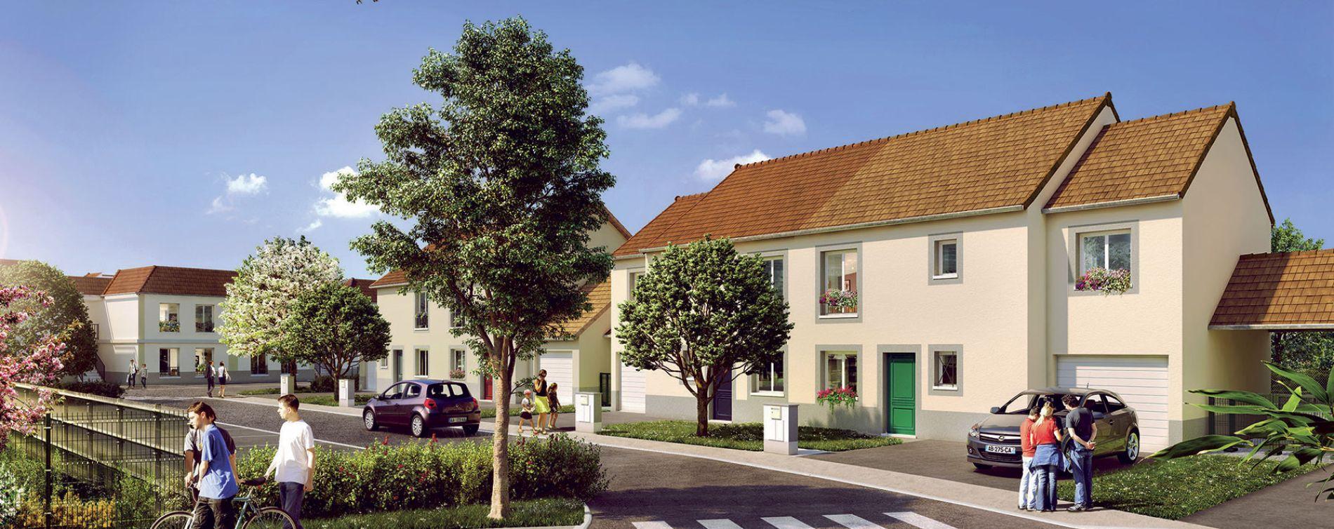 Résidence Le Jardin des Peintres à Ballancourt-sur-Essonne