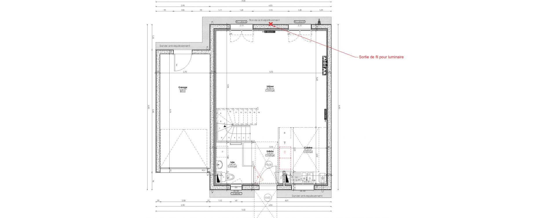 Maison T5 de 103,30 m2 à Ballancourt-Sur-Essonne Centre