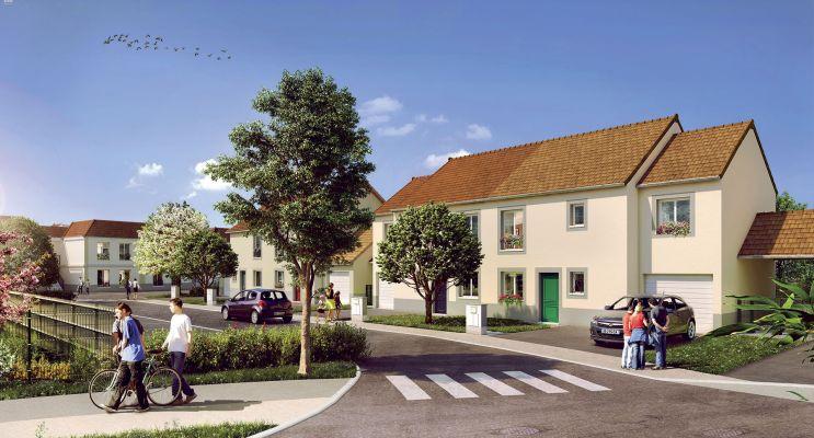 Ballancourt-sur-Essonne : programme immobilier neuf « Le Jardin des Peintres »