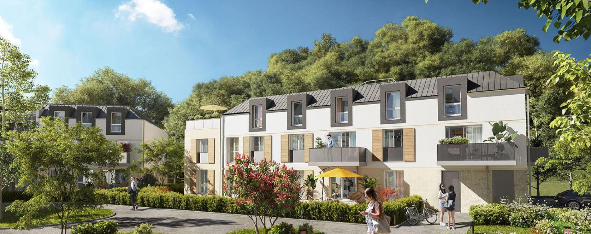 Bièvres : programme immobilier neuve « Programme immobilier n°218849 » en Loi Pinel