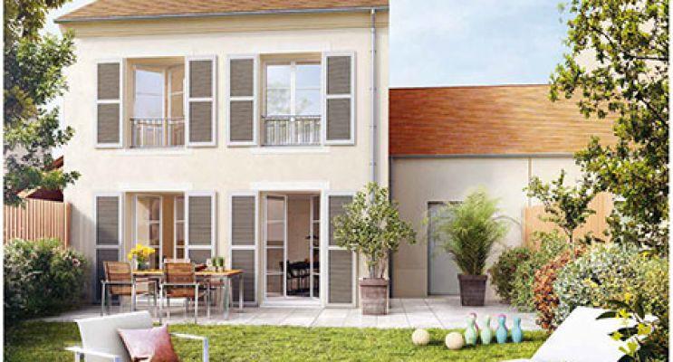 Résidence « Les Jardins Des Hommeries » programme immobilier neuf en Loi Pinel à Bièvres n°3