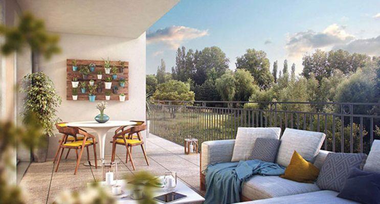 Résidence « Les Jardins Des Hommeries » programme immobilier neuf en Loi Pinel à Bièvres n°4