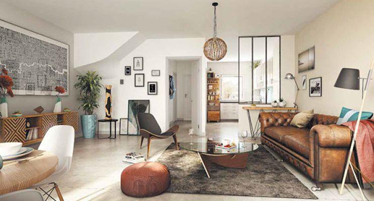 Résidence « Les Jardins Des Hommeries » programme immobilier neuf en Loi Pinel à Bièvres n°5