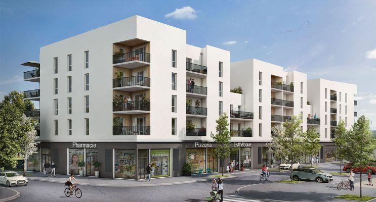 Résidence « Coeur Emeraude » programme immobilier neuf en Loi Pinel à Bondoufle n°1