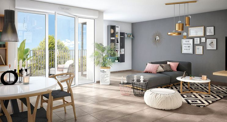 Résidence « Coeur Emeraude » programme immobilier neuf en Loi Pinel à Bondoufle n°3