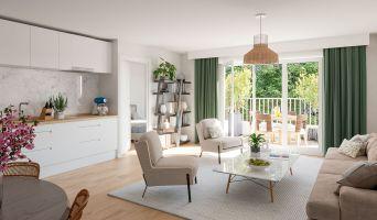 Bondoufle programme immobilier neuve « Grandeur Nature »  (3)