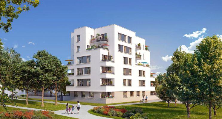 Photo du Résidence « Les Trèfles Blancs » programme immobilier neuf en Loi Pinel à Brétigny-sur-Orge