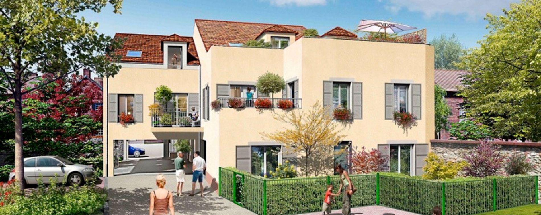 la villa beauregard chilly mazarin programme immobilier neuf n 214640. Black Bedroom Furniture Sets. Home Design Ideas