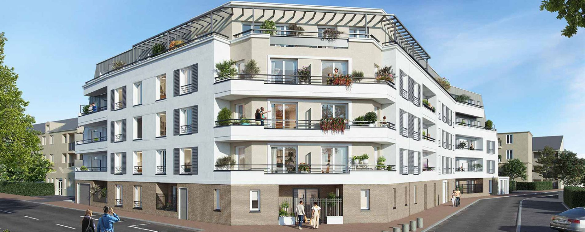 Chilly-Mazarin : programme immobilier neuve « Le Chailly » en Loi Pinel