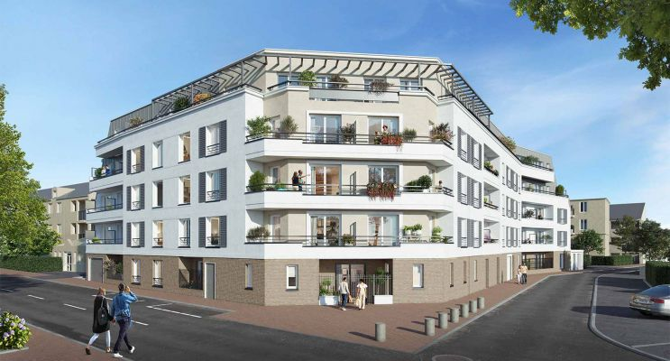 Chilly-Mazarin programme immobilier neuf « Le Chailly » en Loi Pinel