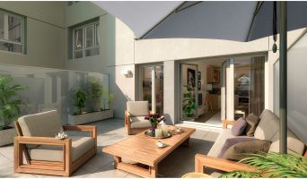 Chilly-Mazarin programme immobilier neuve « Rosae »  (3)