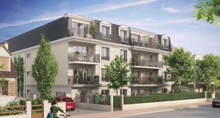 Résidence « Villa Cardinale » programme immobilier neuf en Loi Pinel à Chilly-Mazarin n°1