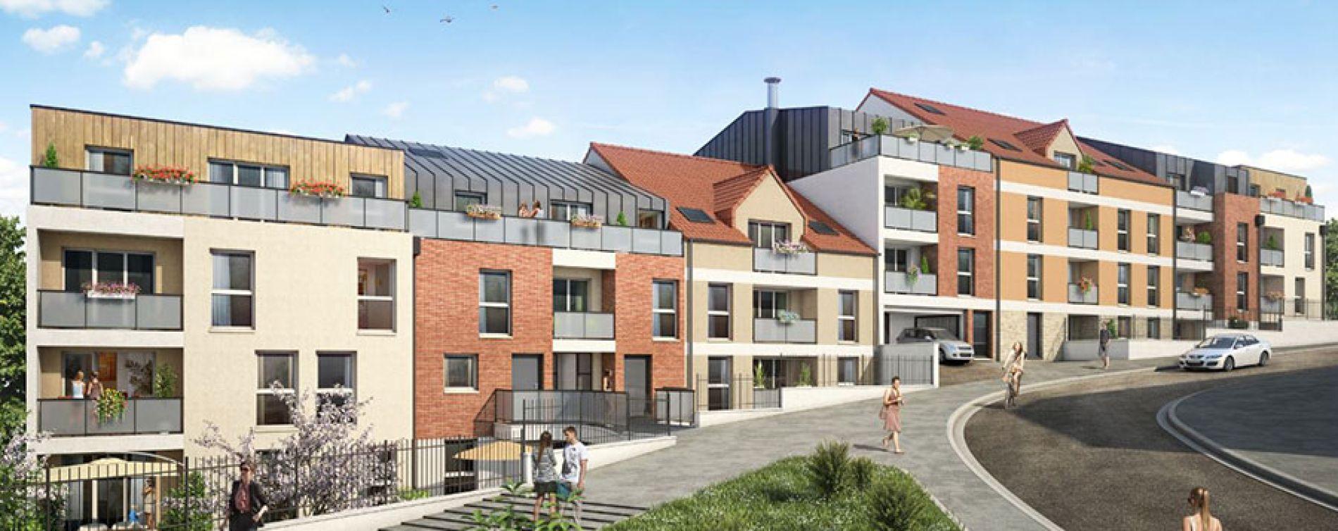 Corbeil-Essonnes : programme immobilier neuve « Aquarelle »
