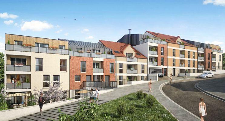 Photo du Résidence « Aquarelle » programme immobilier neuf en Loi Pinel à Corbeil-Essonnes