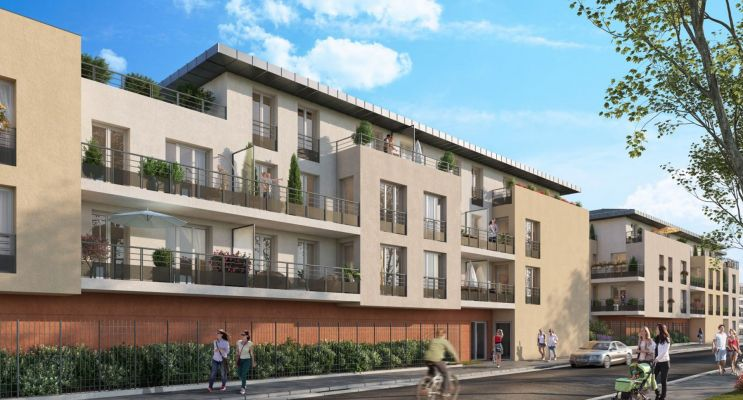 Photo du Résidence « Novéa » programme immobilier neuf en Loi Pinel à Corbeil-Essonnes