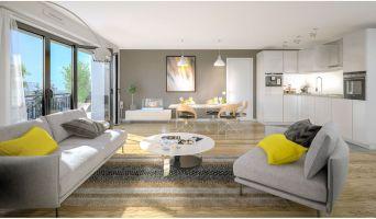 Courcouronnes programme immobilier neuve « L'Envol » en Loi Pinel  (4)