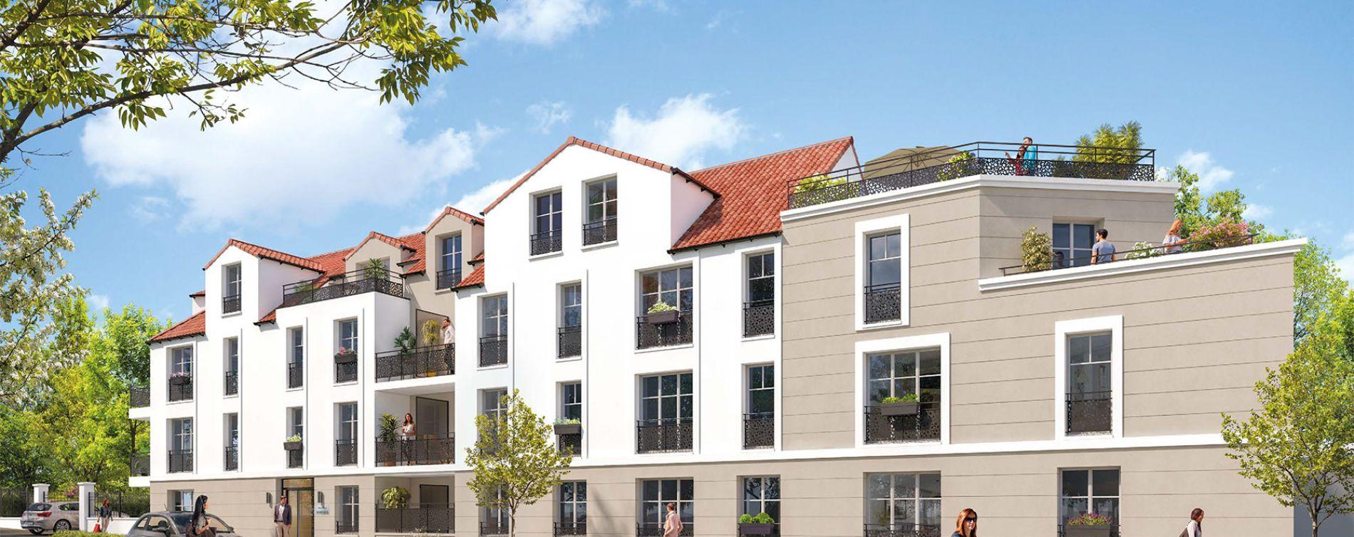 Dourdan : programme immobilier neuve « Sérénité » en Loi Pinel