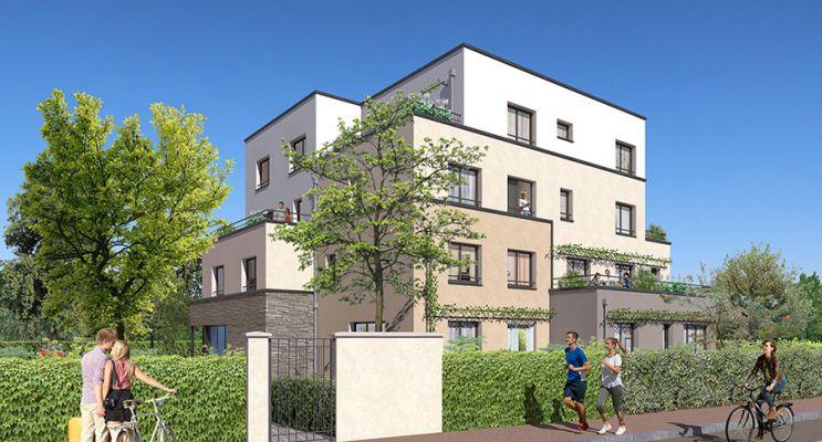 Photo n°2 du Résidence « Les Terrasses De L'Orge » programme immobilier neuf en Loi Pinel à Épinay-sur-Orge