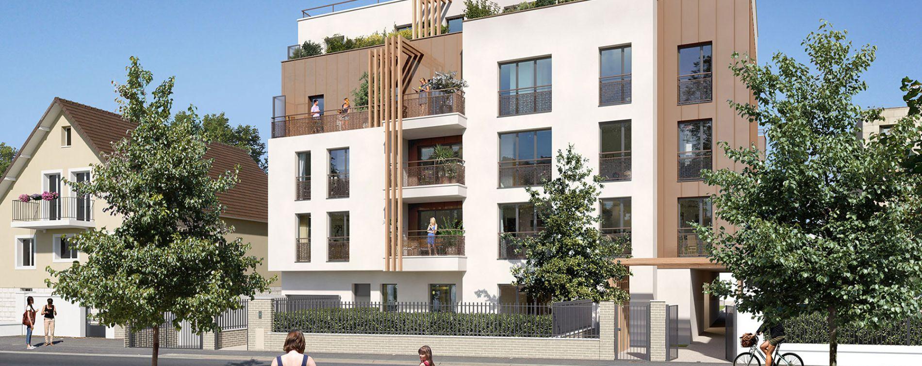 Épinay-sur-Orge : programme immobilier neuve « Programme immobilier n°219308 » en Loi Pinel