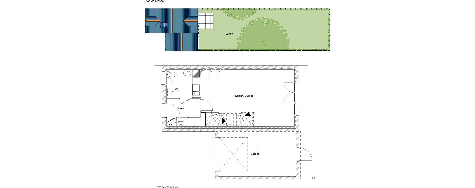 Villa T5 de 91,71 m2 à Étampes Centre