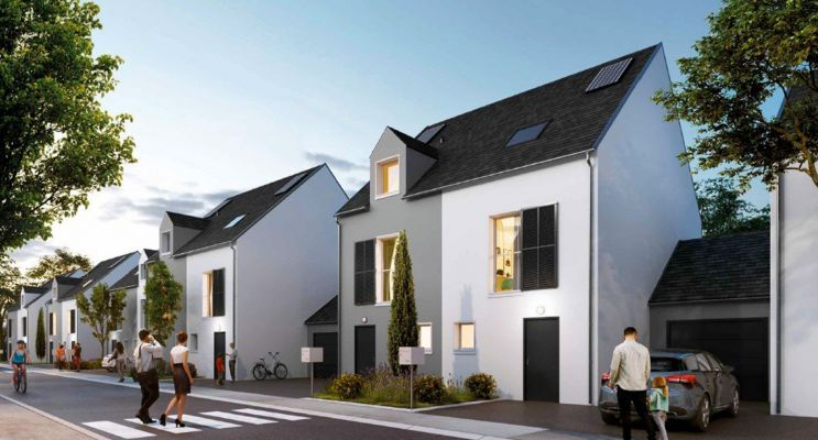 Photo du Résidence « Les Villas d'Adrien » programme immobilier neuf à Étampes