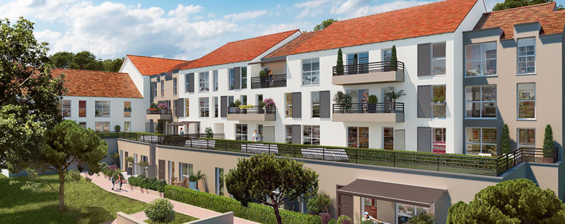 Villa sophia tampes programme immobilier neuf n 212323 for Achat appartement neuf idf
