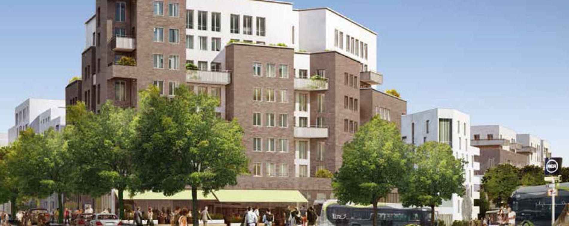 Évry : programme immobilier neuve « Bio Valley »
