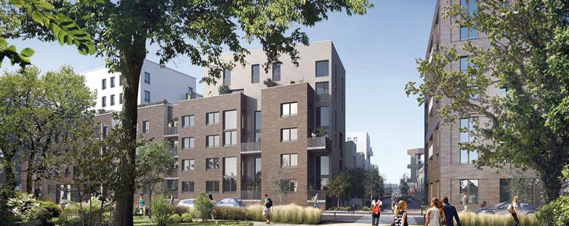 Évry : programme immobilier neuve « Bio Valley » (2)