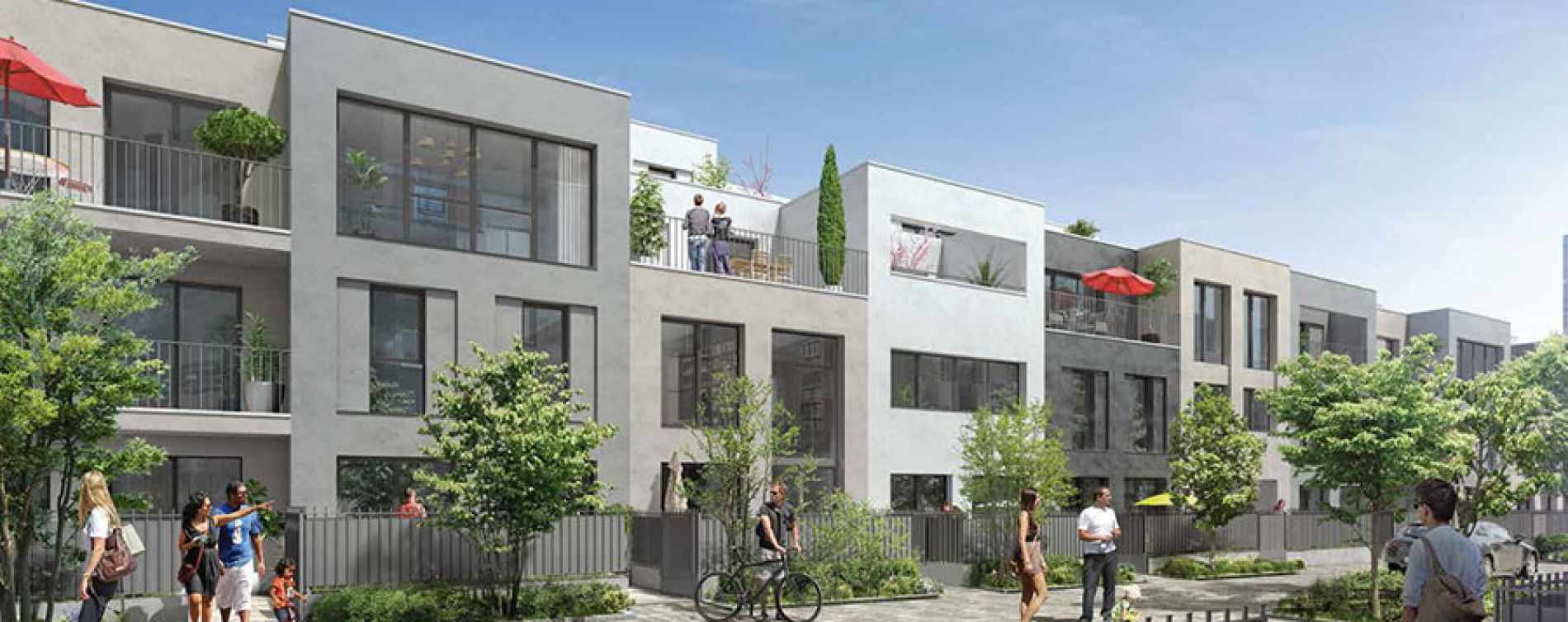 Évry : programme immobilier neuve « Bio Valley » (3)