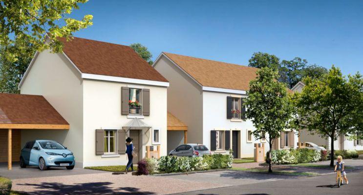 Photo du Résidence « Nature & Sens » programme immobilier neuf en Loi Pinel à Fontenay-le-Vicomte