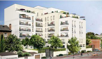 Juvisy-sur-Orge : programme immobilier neuf « Carré Blanc » en Loi Pinel