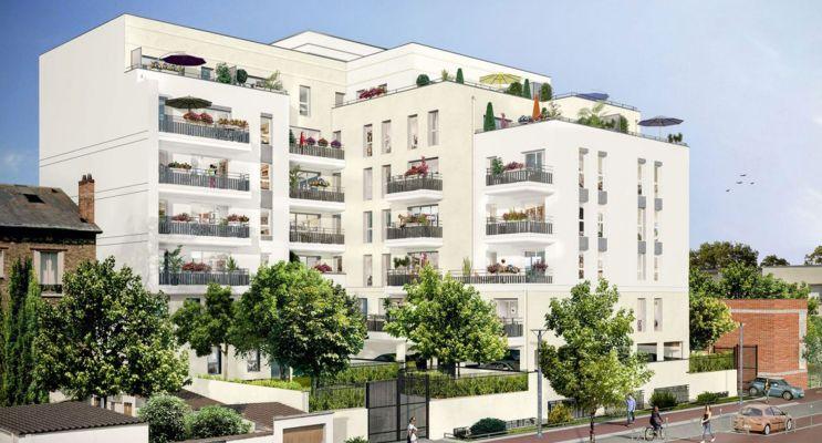 Photo du Résidence « Carré Blanc » programme immobilier neuf à Juvisy-sur-Orge