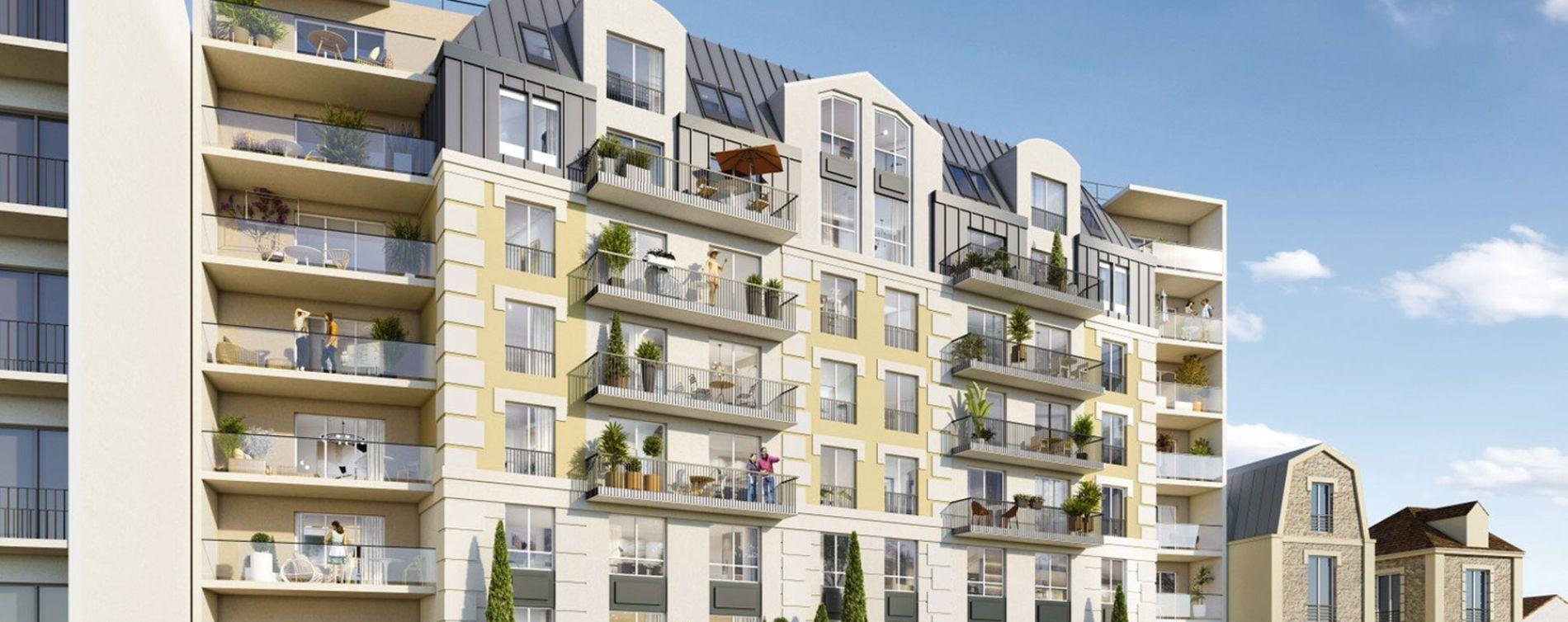 Juvisy-sur-Orge : programme immobilier neuve « Les Jardins d'Argelies » en Loi Pinel