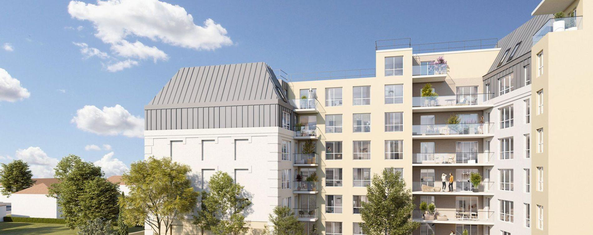 Juvisy-sur-Orge : programme immobilier neuve « Les Jardins d'Argelies » en Loi Pinel (2)