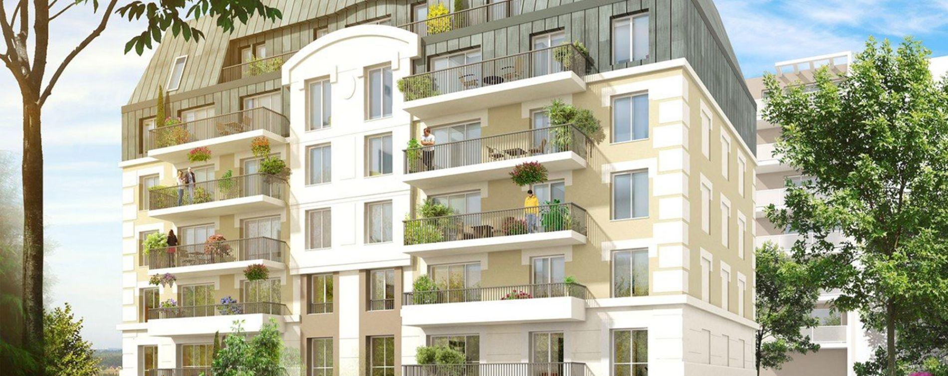 Juvisy-sur-Orge : programme immobilier neuve « Les Jardins d'Argelies » en Loi Pinel (3)