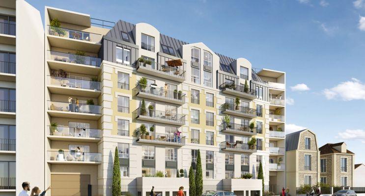 Juvisy-sur-Orge programme immobilier neuf « Les Jardins d'Argelies » en Loi Pinel