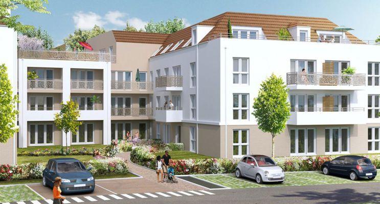 Linas : programme immobilier neuf « Carré Nature » en Loi Pinel
