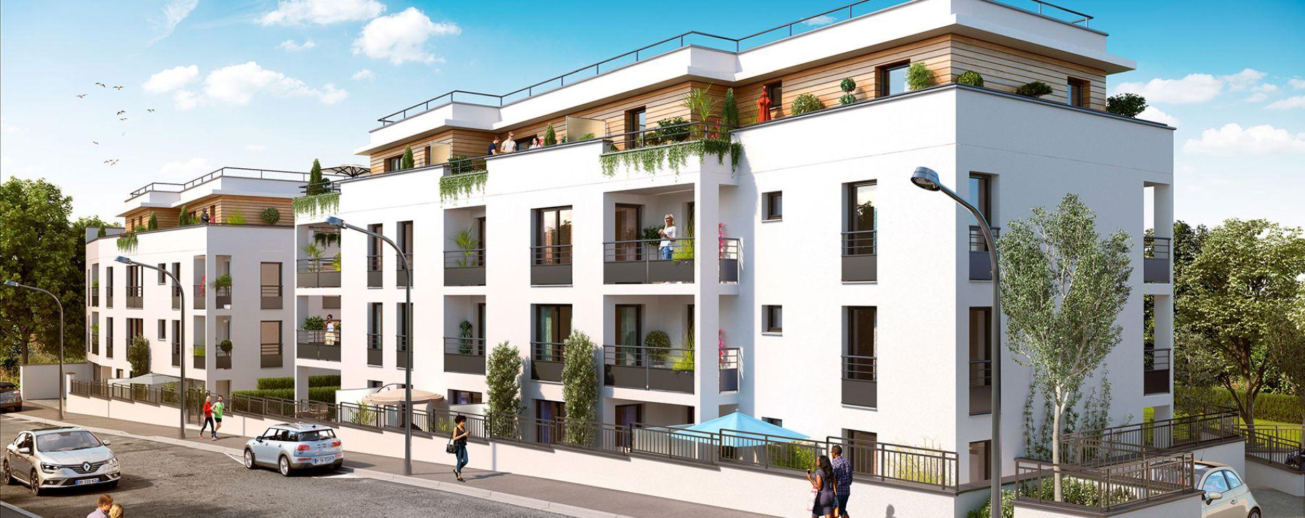 Longjumeau : programme immobilier neuve « Villa Bertillon »