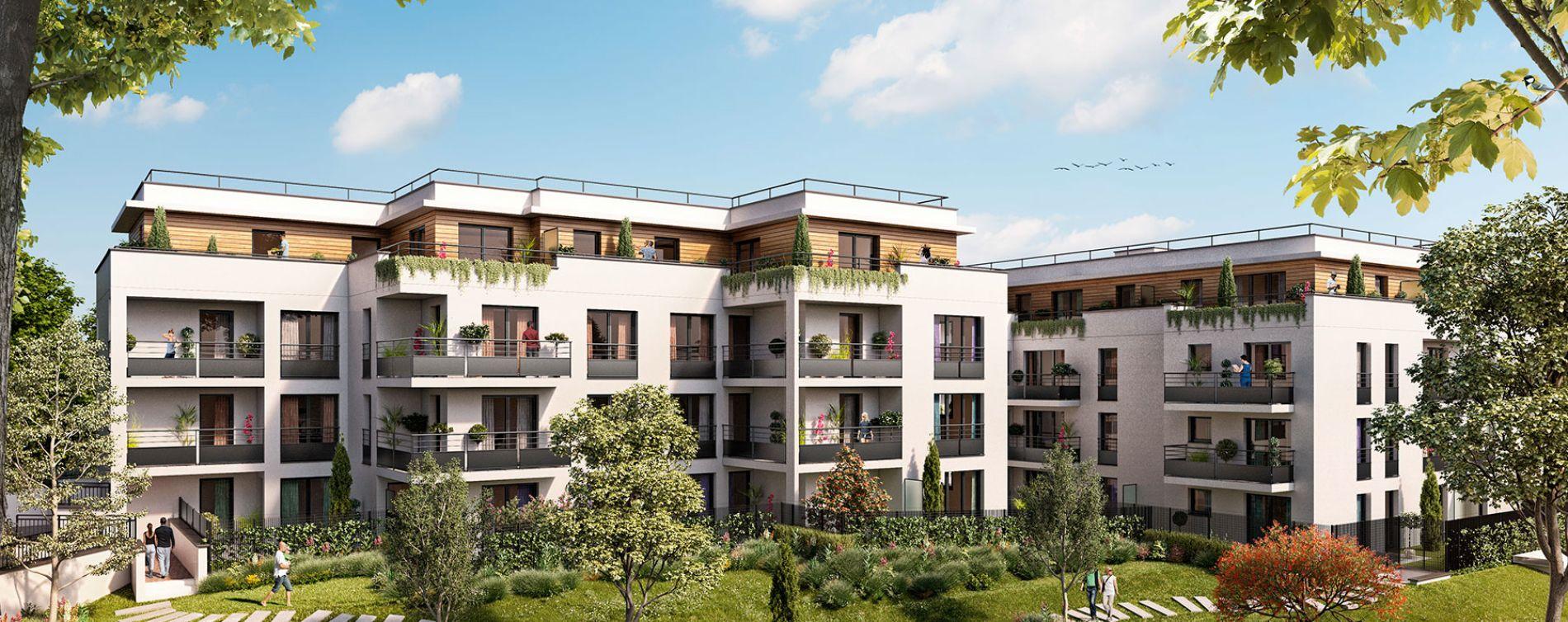 Longjumeau : programme immobilier neuve « Villa Bertillon » (2)