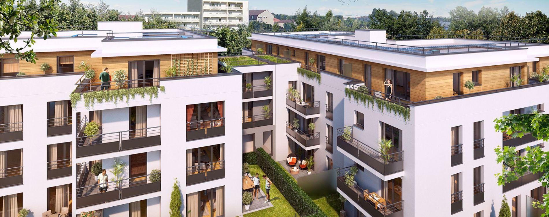 Longjumeau : programme immobilier neuve « Villa Bertillon » (4)