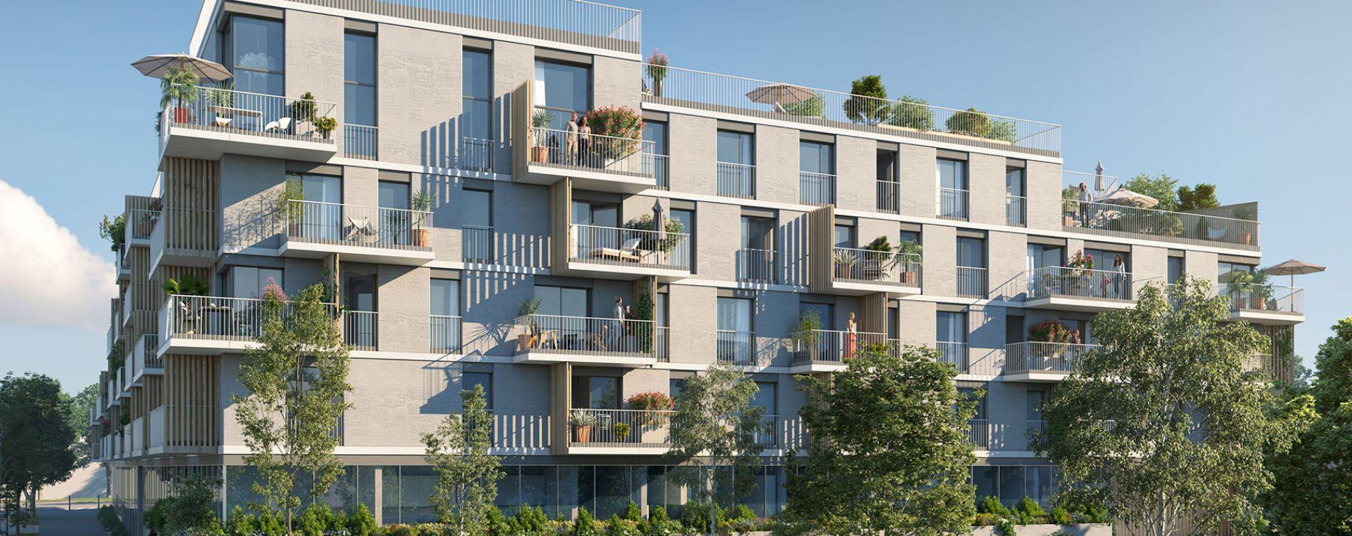 Massy : programme immobilier neuve « Allée du Parc » (3)