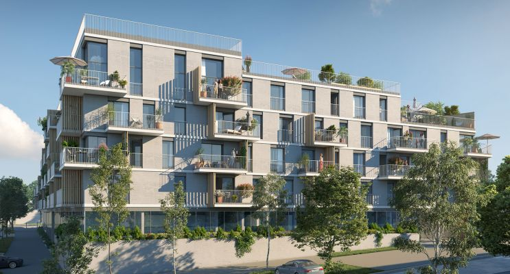 Résidence « Allée Du Parc » programme immobilier neuf en Loi Pinel à Massy n°3