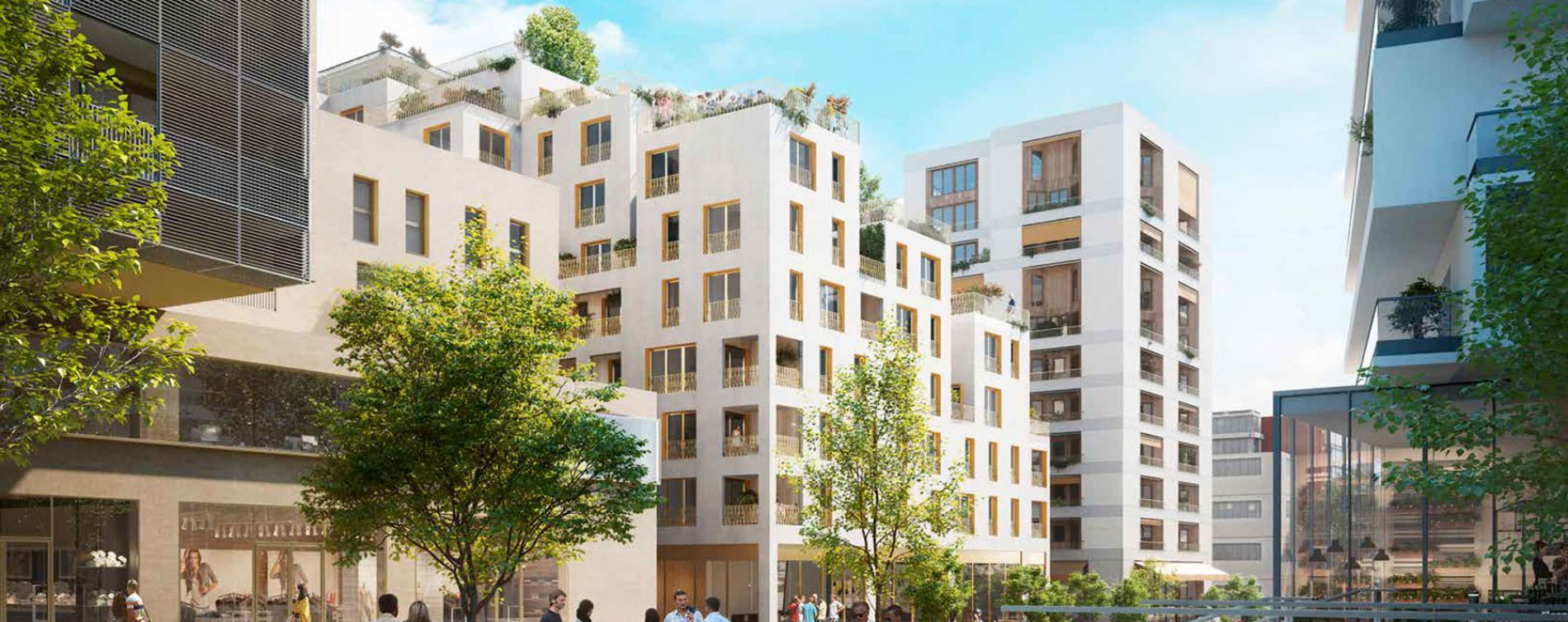 Massy : programme immobilier neuve « Contact »