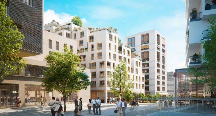 Photo du Résidence « Contact » programme immobilier neuf à Massy