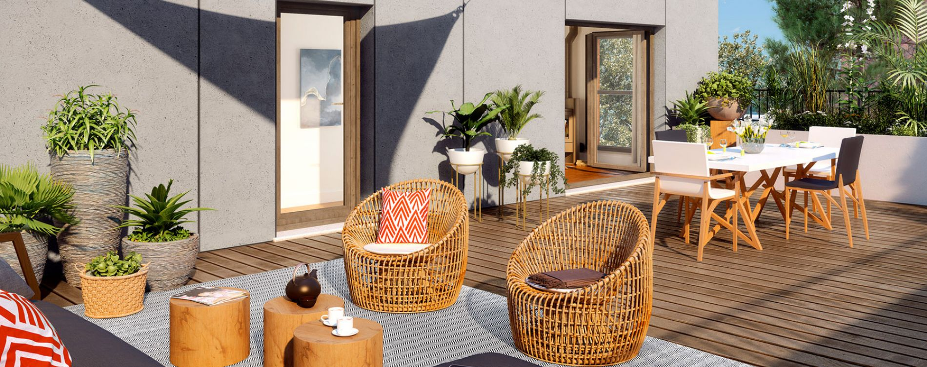 Massy : programme immobilier neuve « Les Ginkgos - Canopée » (3)