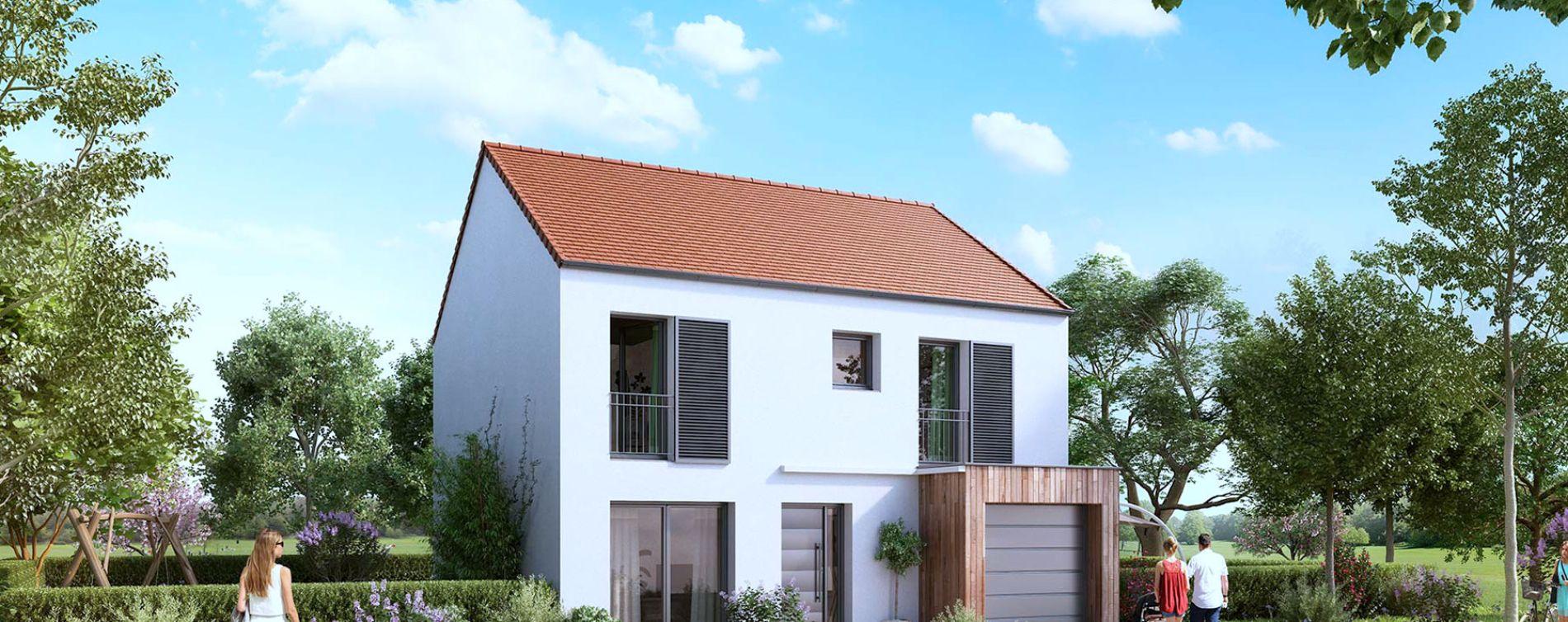Mauchamps : programme immobilier neuve « Le Hameau de la Guérinière »