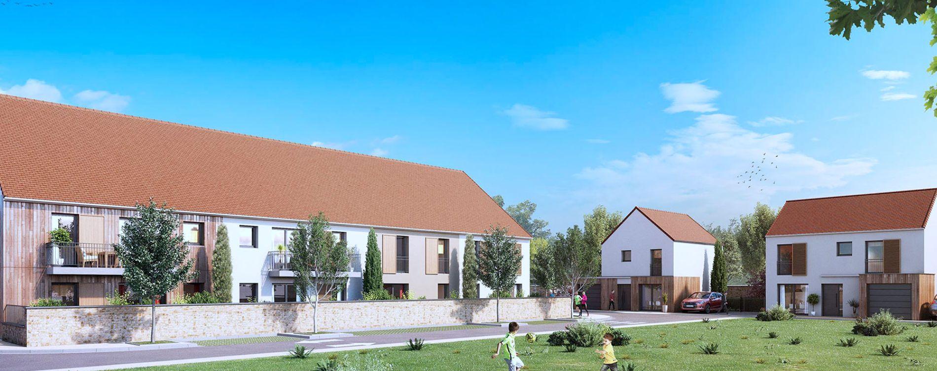 Mauchamps : programme immobilier neuve « Le Hameau de la Guérinière » (2)
