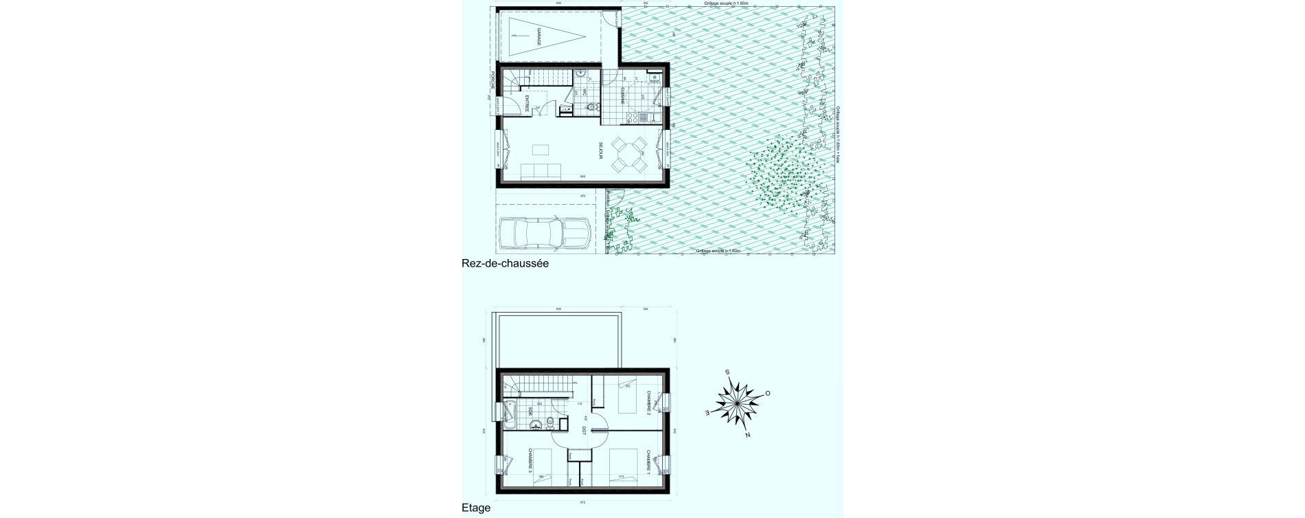 Maison T4 de 80,22 m2 à Mauchamps Centre